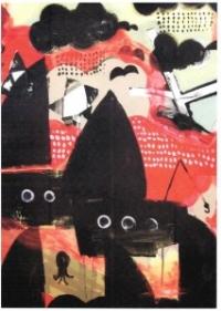 Angstens øjne. Luise Haugen